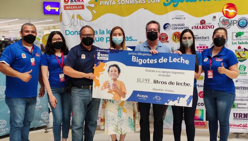 """Concluye exitosamente la campaña """"Bigotes de Leche"""""""