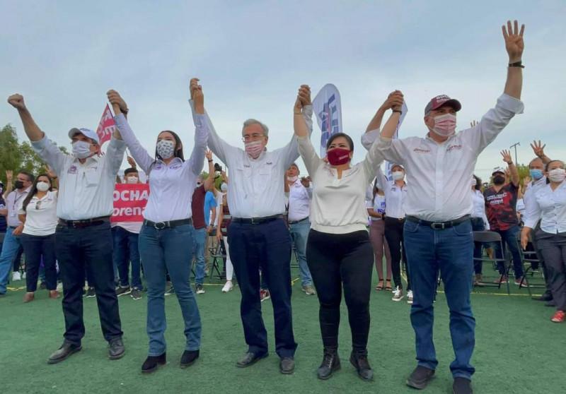Apoya y respalda Rubén Rocha Moya a Ana Ayala