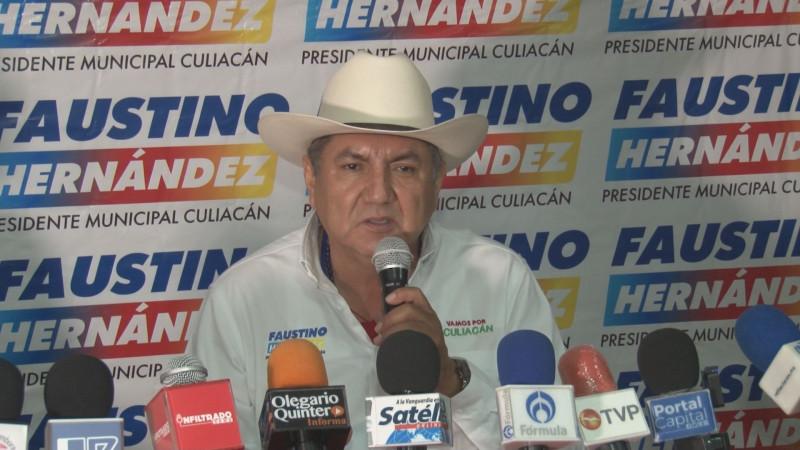 Implementaremos en Culiacán un moderno programa de movilidad integral: Faustino Hernández