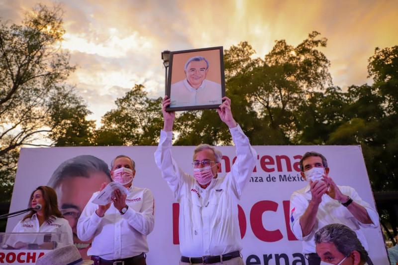 Al instalar la 4T en el estado, vamos a tener un Sinaloa que respete a las mujeres: Rubén Rocha Moya