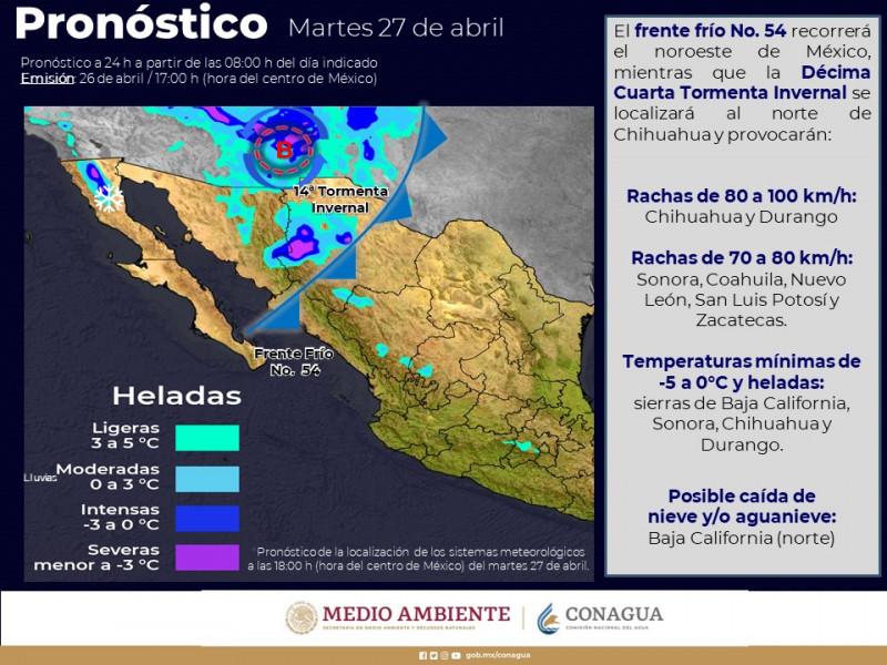 Lluvia inesperada se presenta en Mazatlán