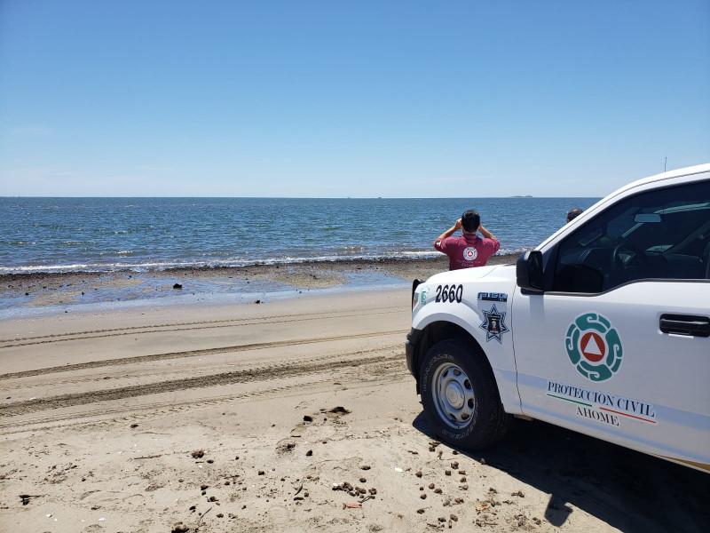Ciudadanos acataron instrucción de no meterse al mar este pasado fin de semana