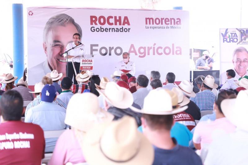 Rubén Rocha Moya y Héctor Melesio Cuén Ojeda participan en Foro Estatal Agrícola