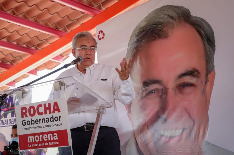 En mi gobierno les irá mejor a los productores y haremos florecer el campo: Rubén Rocha Moya