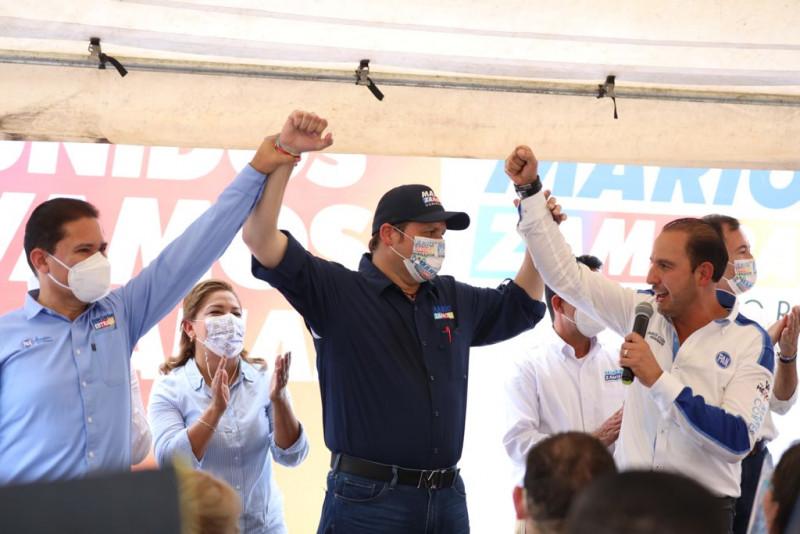 Cerremos filas por Sinaloa, pide Marko Cortés