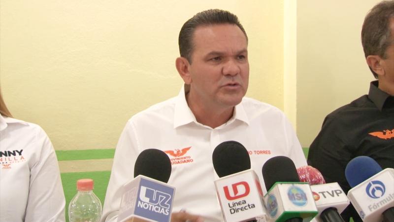 Sergio Torres presenta diagnóstico de Sinaloa