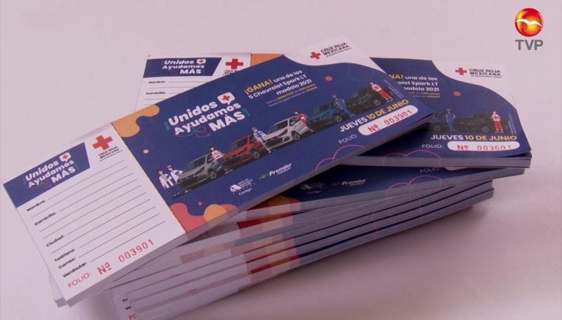 Cruz Roja rifará 5 automóviles