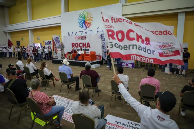 Con acciones concretas, Rocha Moya se compromete a atender  integralmente necesidades de agricultores, pescadores y ganaderos