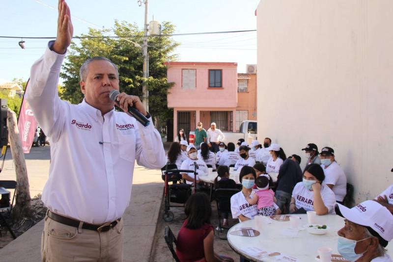 Regresaremos a cumplir los compromisos: Gerardo Vargas