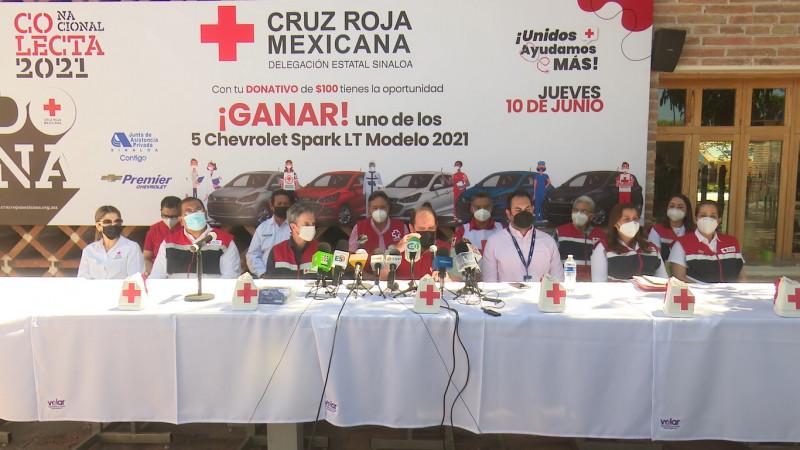 """Invita Cruz Roja a la colecta anual """"Unidos Ayudamos Más"""""""