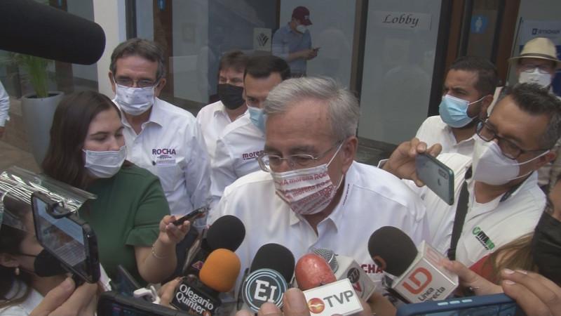 No le preocupa a Rocha denuncia ante el INE