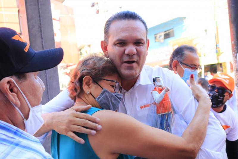 Los sinaloenses nos ven como una opción real para la gubernatura: Sergio Torres