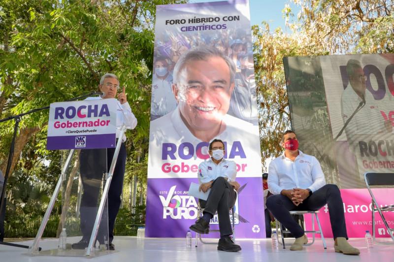 Gobierno de Rocha se sustentará en saber e investigación de científicos sinaloenses