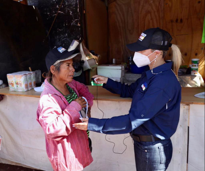 Esposa de Mario Zamora visita el Relleno Sanitario de Culiacán