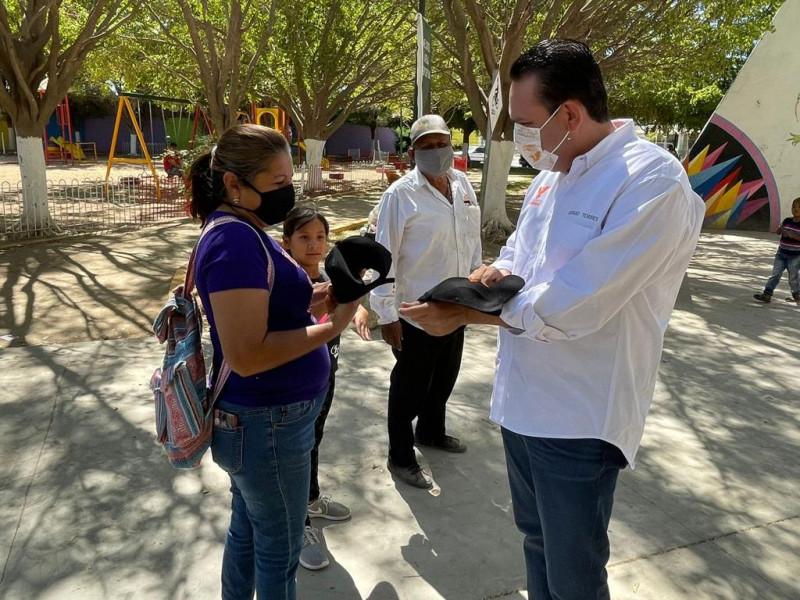 En mi gobierno daré atención prioritaria a Sindicaturas: Sergio Torres
