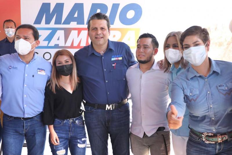 Declinan candidatos del Verde y PT en Choix en favor de Mario Zamora