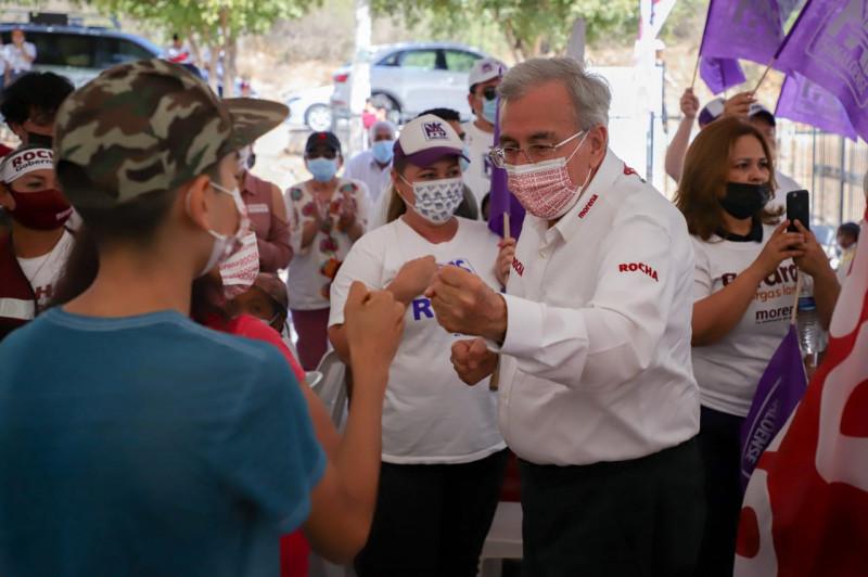 """Rubén Rocha Moya desaparecerá la """"cuota liga"""" y reactivará Hospital Integral de El Carrizo"""
