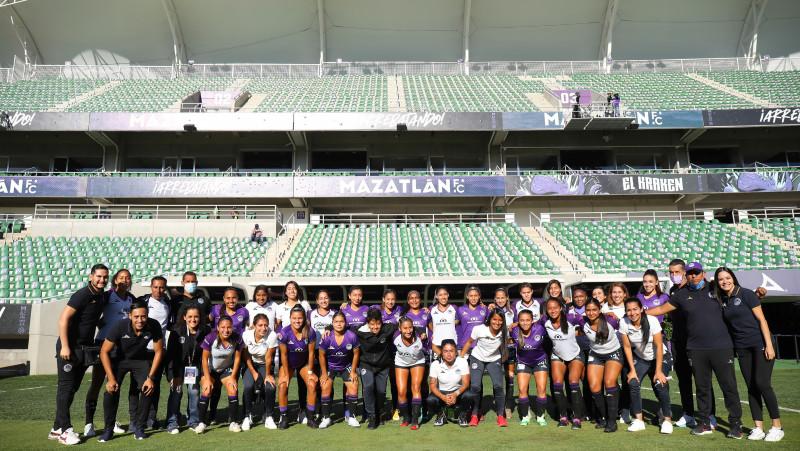 """Mazatlan FC Femenil despide el torneo con una derrota en """"El Kraken"""""""