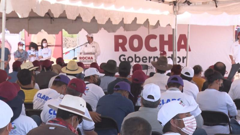 No aceptaré debate con los otros candidatos: Rocha Moya