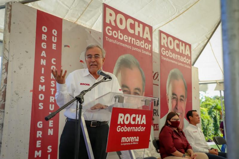 Propone Rocha Moya una planeación a largo plazo en materia de obra pública