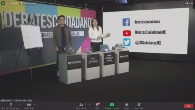 Centro Empresarial realizará debate con candidatos y candidatas al Gobierno de SInaloa