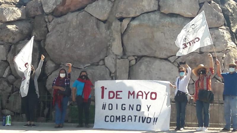 1 de mayo sigue siendo una fecha combativa: CNTE