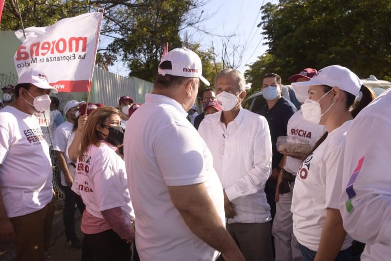 Culiacán tendrá mejores obras con el apoyo de la ciudadanía: Estrada Ferreiro