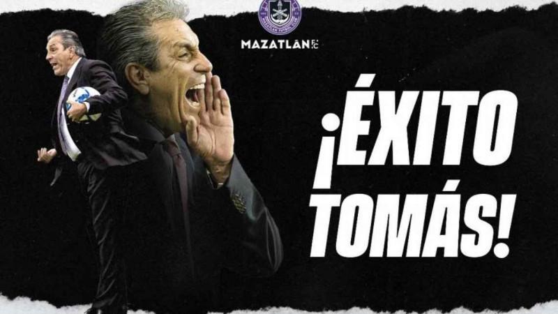 ¡Oficial! Tomas Boy deja de ser DT de Mazatlan FC