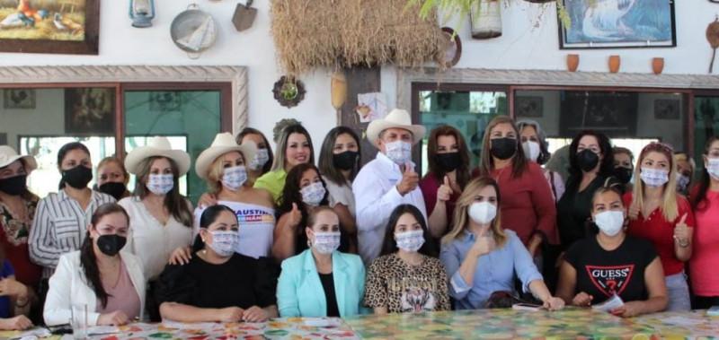 Garantiza Faustino Hernández amplia participación de mujeres en su gobierno
