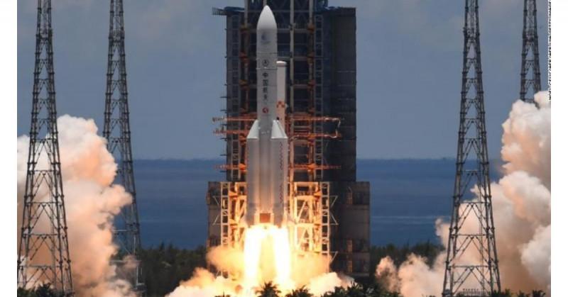 Alertan de cohete chino fuera de control que impactará en la tierra este fin de semana