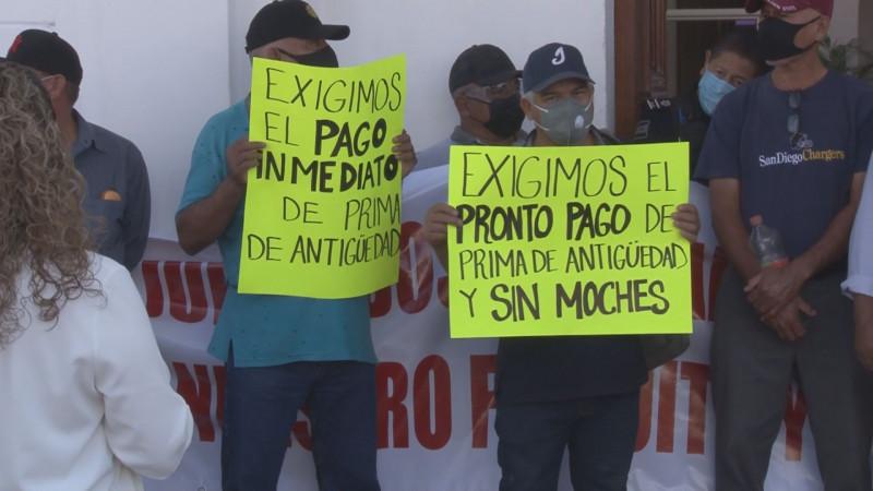 Sin razón las manifestaciones de viudas de policías y elementos jubilados: Ayuntamiento