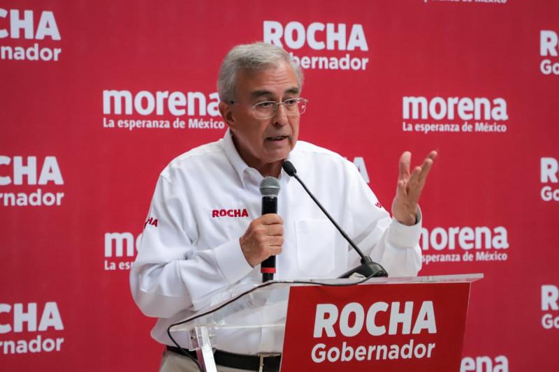Presenta Rocha Moya sus propuestas de campaña