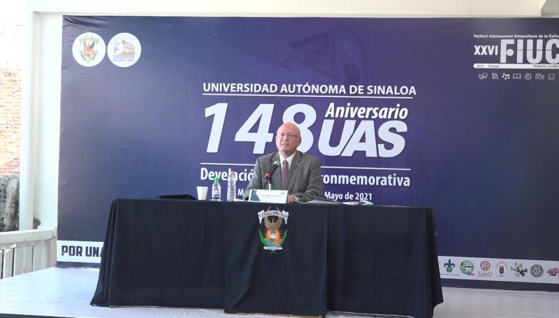 Conmemoran 148 aniversario de la UAS