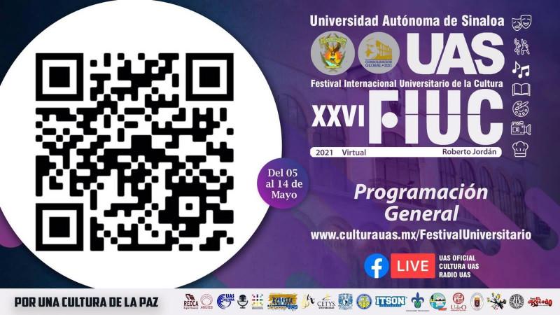 Del 5 al 14 de mayo se realizará el Festival Internacional Universitario de la Cultura