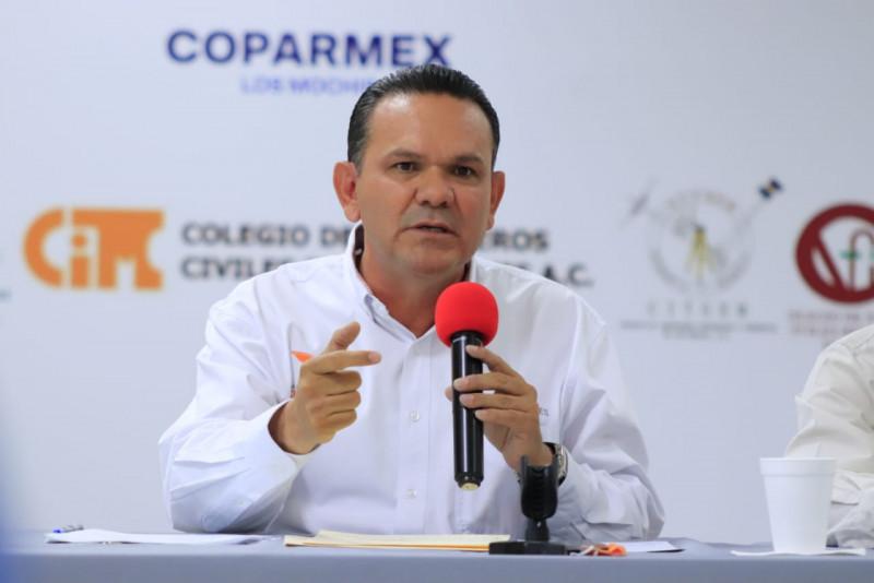 Se compromete Sergio Torres ante constructores y empresarios de Ahome a extinguir PRECASIN