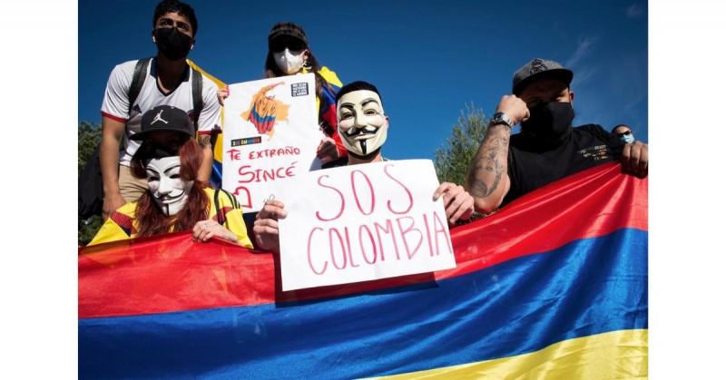 """Nos están matando en Colombia"", las palabras de un joven que recibió disparos en manifestación"
