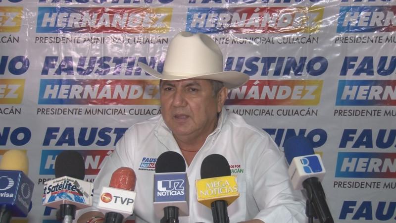 En transparencia y rendición de cuentas voy a predicar con el ejemplo: Faustino Hernández