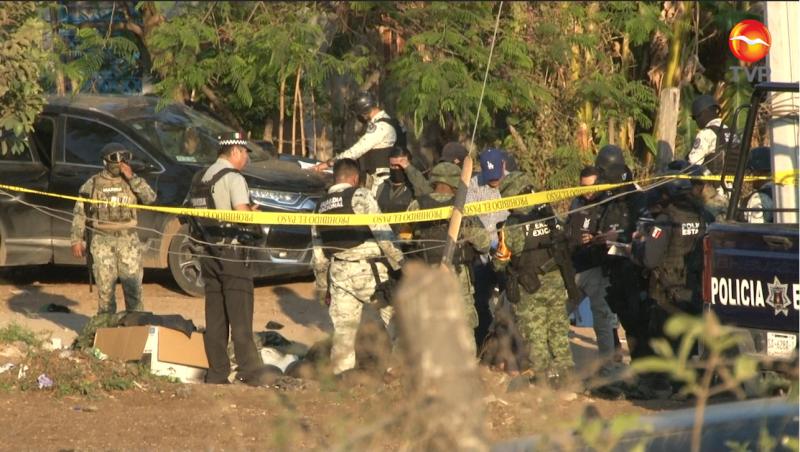 Enfrentamiento entre civiles y policías estatales en Loma Bonita