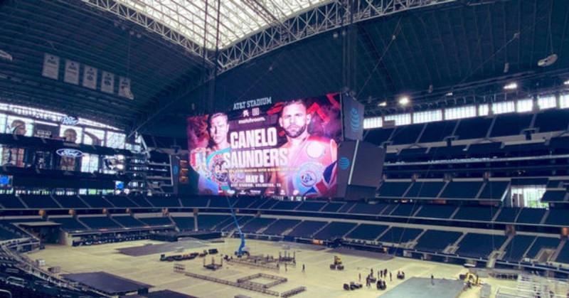 """Este sábado """"Canelo"""" Álvarez y Saunders pelearán por tres de los cuatro títulos mundiales Supermedianos"""