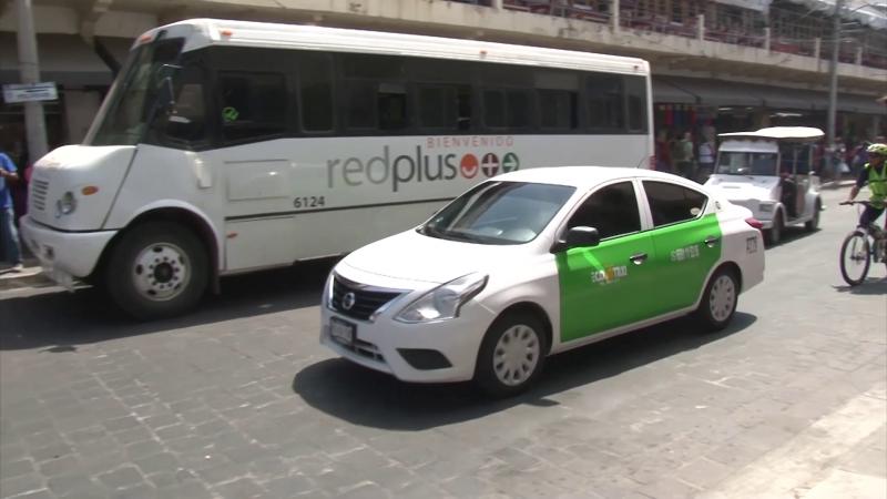 Piden retenes al transporte público: Ecotaxis verdes