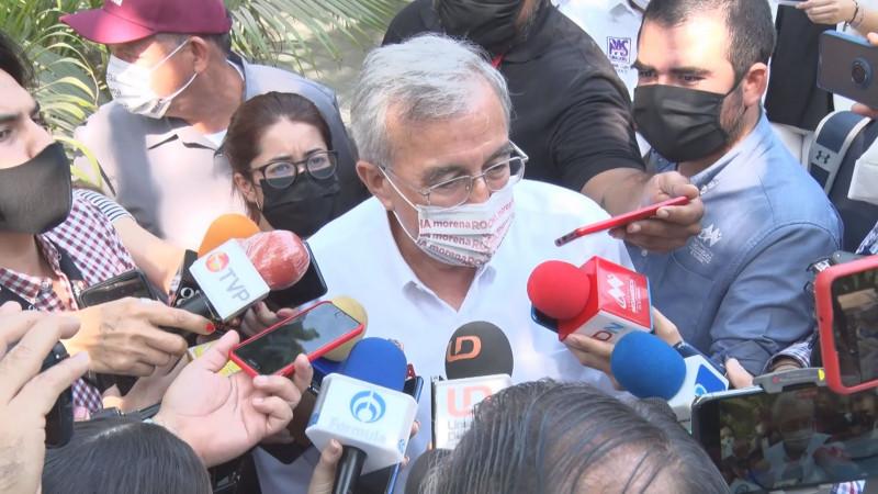 Mario quiere llamar la atención de los medios, por eso dice mentiras: Rubén Rocha