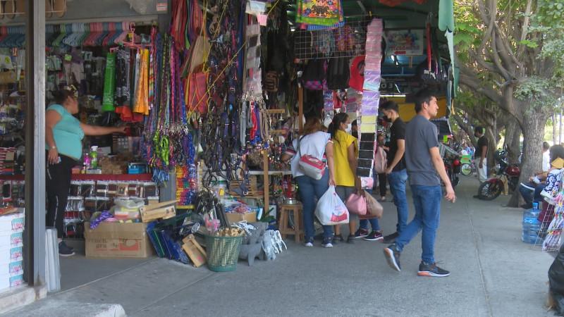 Prevén comerciantes de la zona 30 en Ahome repunte de ventas el fin de semana
