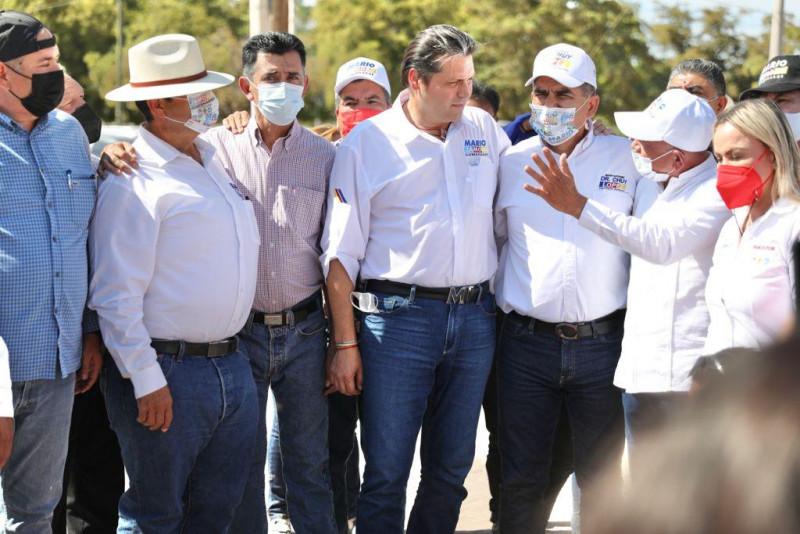 Pavimentación y drenaje para Juan José Ríos, promete Mario Zamora