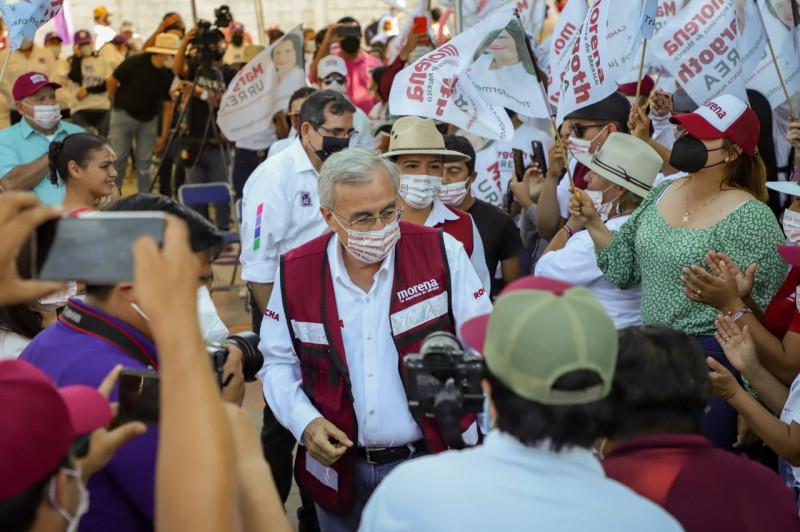 Con crecimiento y desarrollo económico incluyente, se beneficiarán primero los pobres: Rubén Rocha Moya