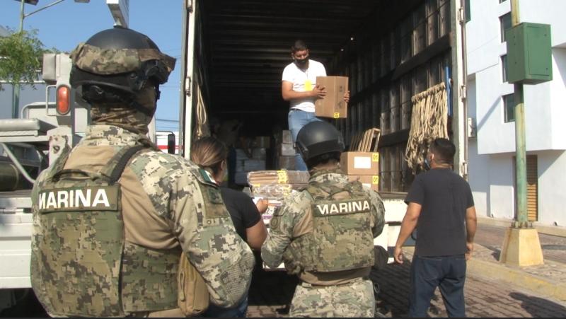 Llegan boletas electorales al INE en Mazatlán