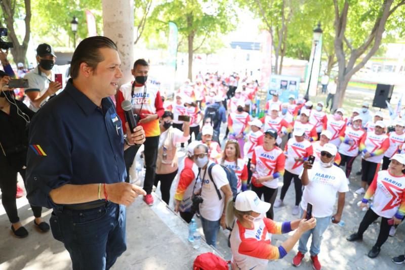 Mil becas para promotores deportivos, compromete Mario Zamora