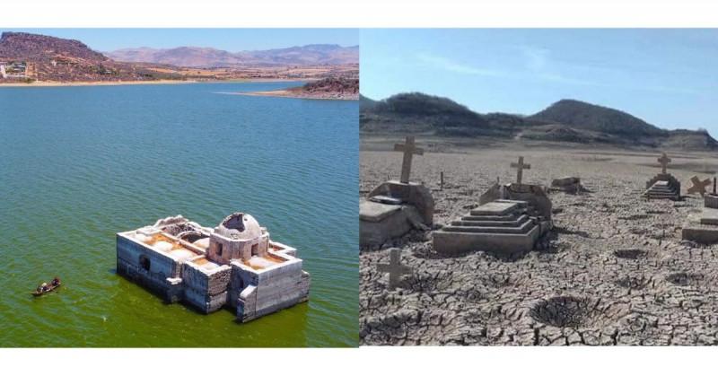El 85% de México sufre crisis por sequías y de ellas emergen espacios antes inundados