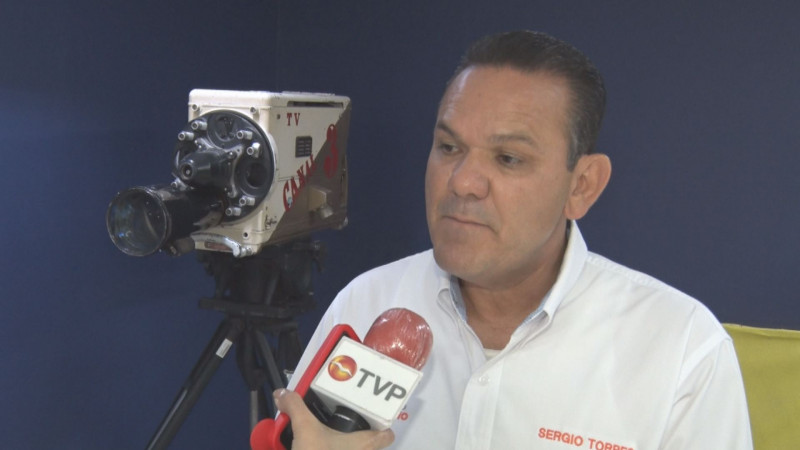 Listo Sergio Torres para el segundo debate