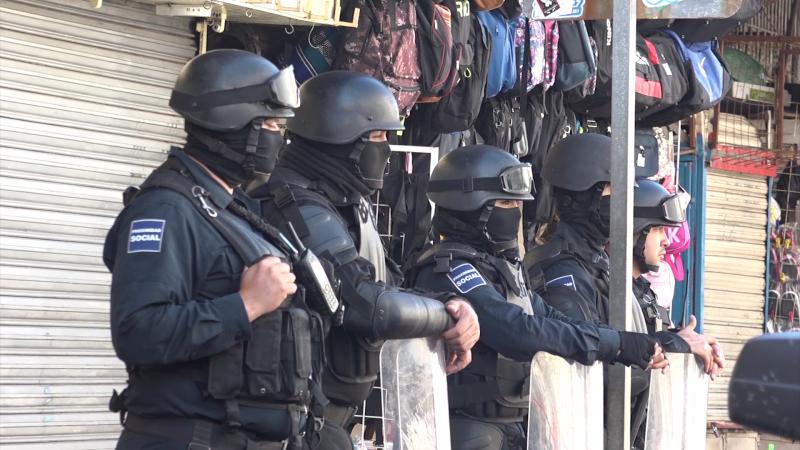 Dos asaltos a comercios, ciudad en calma: SSPyTM