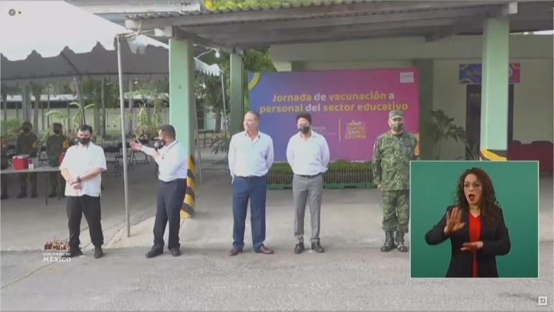 Responde AMLO a petición de Gobernador de Sinaloa en el tema de vacunación a docentes